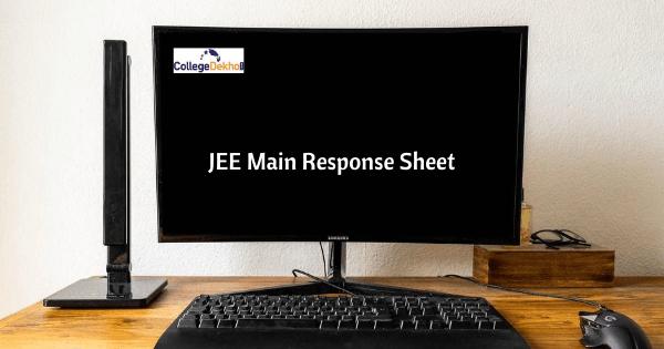 JEE Main Response Sheet
