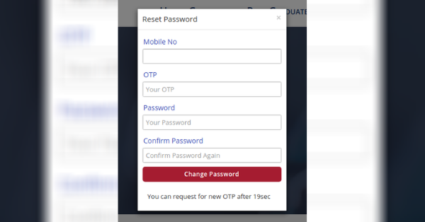 Retrieving CLAT Password 4