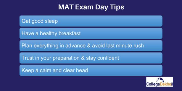 Best Exam Day Tips for MAT