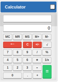 CAT 2020 On Screen Calculator