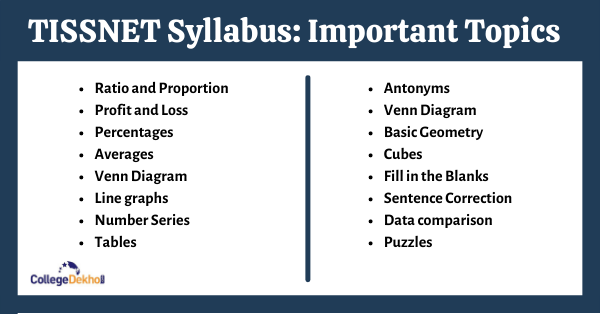 TISSNET Syllabus