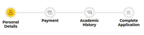 UPES Application Form B.Des steps